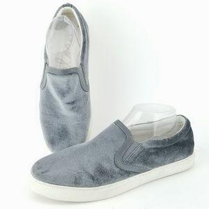 Sam Edelman Pixie Velvet Slip On Shoes 10 EK40